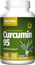 Jarrow Formulas Curcumin 95, 500 Milligrams 120 Capsules