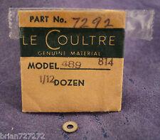 LeCoultre 814 489 Part #7292 Intermediate Unlocking Wheel Factory N.O.S