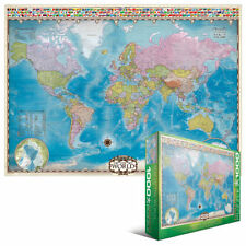 Map of the World 1000 PIECE JIGSAW PUZZLE EG60000557 - Eurographics