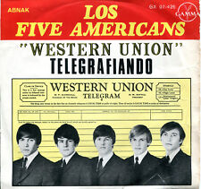 "The Five Americans 7"" Western Union (Telegrafiando)  (original Mexico EP 1967)"