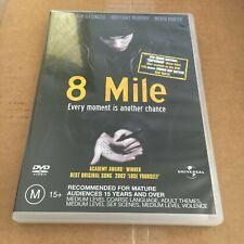 8 MILE DVD. REGION 2/4