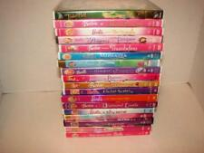 Barbie & Tinkerbell DVDS~Lot of 18~Swan lake~Thumbelina~Nutcracker~Etc.~