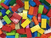 LEGO Brick 2x4 NEW 3001 -Choose Colour / Quantity 10 50 100 Red Yellow Blue Pink