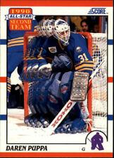 1990-91 Score Buffalo Sabres Hockey Card #318 Daren Puppa AS2