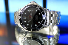Men's Full Size Limited Sp. Ed. OMEGA SEAMASTER BOND 007 AUTOMATIC Watch - B&P&C