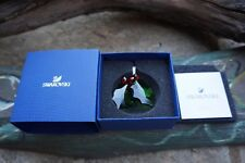 Swarovski 5286155 Christmas HOLLY ORNAMENT NIB AUTHENTIC