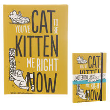 Simons Cat A5 Hardback Lined Notebook - 'You've Cat to be Kitten Me' - Sealed