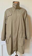 NOA NOA Brown Zip-Front Heavy Winter Coat Removable Fleece Lining Denmark M