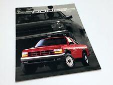 1992 Dodge Ram 50 Dakota Ram Pickup Brochure