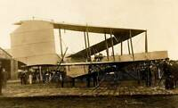 OLD PHOTO Early Aviation The Dunne Biplane Pictured At Hendon Circa 1912