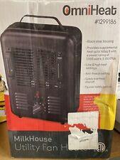 Sai Dq1409 Fan-Forced Portable Heater - Black