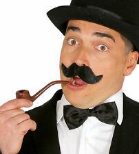 Fancy Dress Pipe Sherlock Style Grandad Bachelor Smoking Joke Halloween Costume