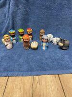 ELC Happyland NativIty Christmas Set Figure - Jesus, Mary, Joseph, 3 Wisemen....
