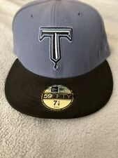New Era 59Fifty TULSA DRILLERS Old Logo Rare Fitted HAT 7 1/8 MiLB New USA