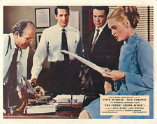 Thomas Crown Affair original lobby card Faye Dunaway Paul Burke in office