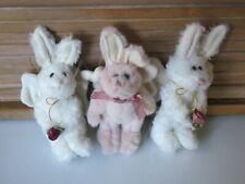Boyds Vintage Bunny Plush Ornaments