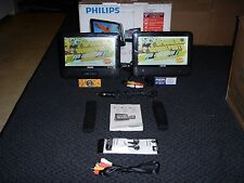 "9"" Dual Philips PD9012 portable dvd player"