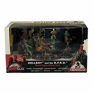 Dark Horse HorrorClix Heroclix Hellboy and the B.P.R.D. Action Pack MISB SEALED