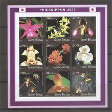 Guinea-Bissau / 2001 Orchids ( Philanippon 2001 )  . MNH