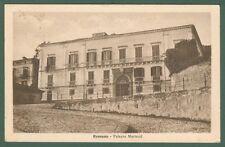 Calabria. ROSSANO, Cosenza. Palazzo Martucci. Cartolina viaggiata nel 1930