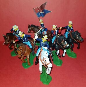 Mounted 7th OF CAVALRY American Civil War DSG Argentina Soldiers Britains