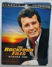 THE ROCKFORD FILES COMPLETE 5TH SEASON SEASON FIVE DVD SET 5 DISK SET ~123