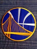 """Golden State Warriors NBA Jersey Patch 2.75"""" Oracle Iron On Sew Shirt *Pre Order"""