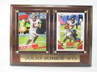 Julio Jones Atlanta Falcons Holz Wandbild 20 cm,Plaque NFL Football !!