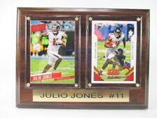Julio Jones Atlanta Falcons Wood Wall Picture 7/8in, Plaque Nfl Football
