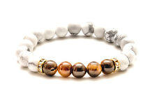 Tiger Eye Chakra Stone Bracelet. Natural Healing Christal Bead. Reiki meditation