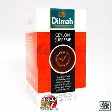 Dilmah Ceylon Tè Supremo-Ceylon Tea in 50 bustine di tè SPEDIZIONE GRATUITA