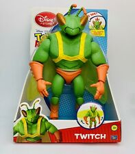 """RARE Toy Story 3 TWITCH 12"""" Figure Thinkway Disney BIG BUG Insect Sparks Chunk"""