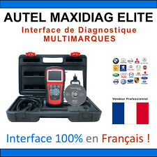 Original AUTEL MaxiDiag Elite MD802 All Systems OBD2 Vehicle Diagnostiques Scan
