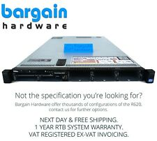 "Dell PowerEdge R620; Configure To Order 1U Rack Server; 2.5"" Intel Xeon 12"