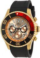 Invicta Pro Diver Chronograph Quartz Gold Dial Men's Watch 15146