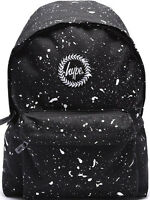Hype Speckled Backpack Rucksack Bag Black/White