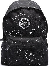 Hype Speckled Backpack Rucksack Bag Black/White