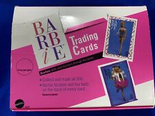 MATTEL BARBIE TRADING CARDS BOX 1990- 235 Cards