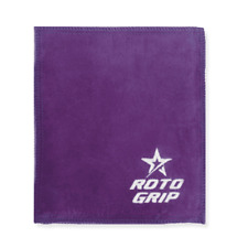 Roto Grip Bowling Shammy Purple Leather Oil Removing Pad