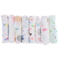 Pañuelo de bebé dibujos animados patrón toalla lavada algodón cara infan*ws