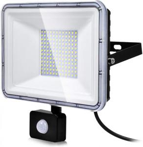 Projecteur 100W LED Exterieur avec Detecteur de Mouvement, Lampe