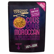 Merchant Gourmet Ready to Eat Moroccan Couscous - 250g (0.55lbs)