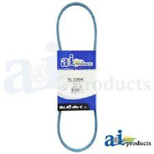 """3L320K 3L-SECTION MADE WITH KEVLAR  (BLUE) V BELT - 3/8"""" X 32"""""""