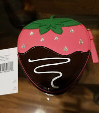Kate Spade Creme de la Creme Chocolate Dipped Strawberry Coin Purse NWT