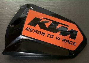 KTM 1290 Super Duke R Pillion Seat Cover Decal (2014-2019 Model Year)