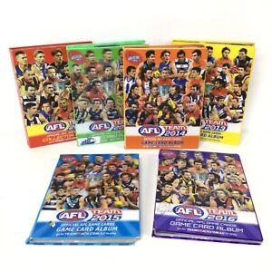 AFL Team 2013-2018 Game Card Collectors Album Near Complete Card Set #914