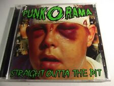 Various Artists Punk-O-Rama 4 CD Flyer + HYPE Straight Outta The Pit 86563-2  99