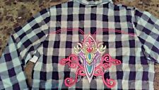 WRANGLER ROCK 47 Womens Ladies Western Shirt M NEW NWT RHINESTONES & EMBROIDERY!