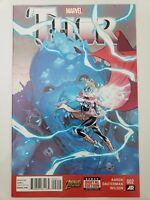 THOR #2 (2014) MARVEL 1ST PRINT! 1ST FULL APPEARANCE JANE FOSTER AS THOR! NM