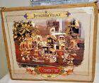 2001 Grandeur Noel Bethlehem Nativity Christmas Village Collectors Edition w/Box